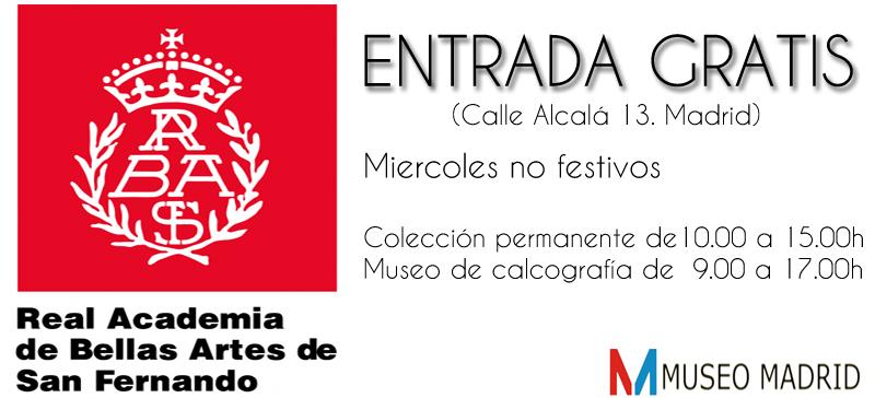 entrada gratis al museo de bellas artes de madrid